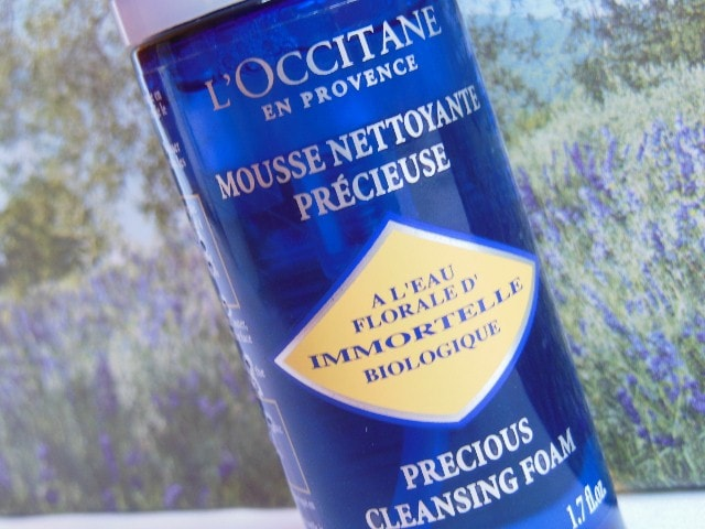 L'Occitane Immortelle Facial Foam