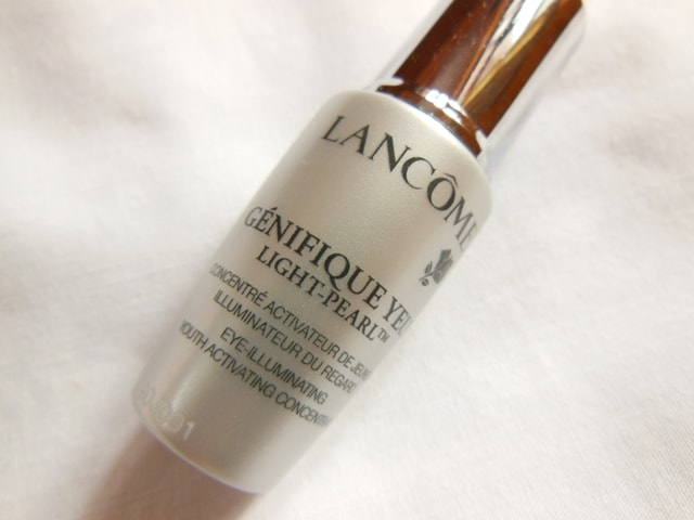 Lancome Genifique Eye Illuminating Youth Activating Concentrate Review