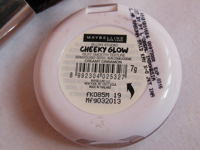 Maybelline Cheeky Glow Blush Creamy Cinnamon