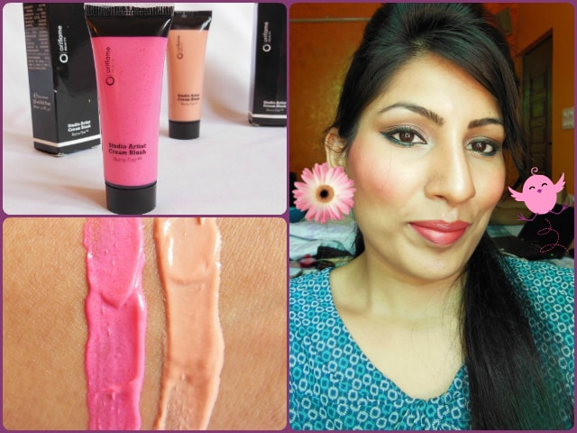 Oriflame Studio Artist Cream Blush Pink Glow Look