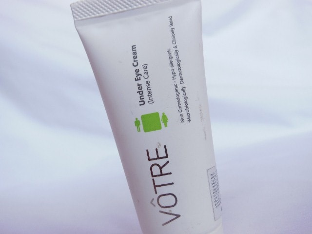 Votre Under Eye Cream Intense care