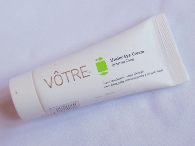 Votre Under Eye Cream Review