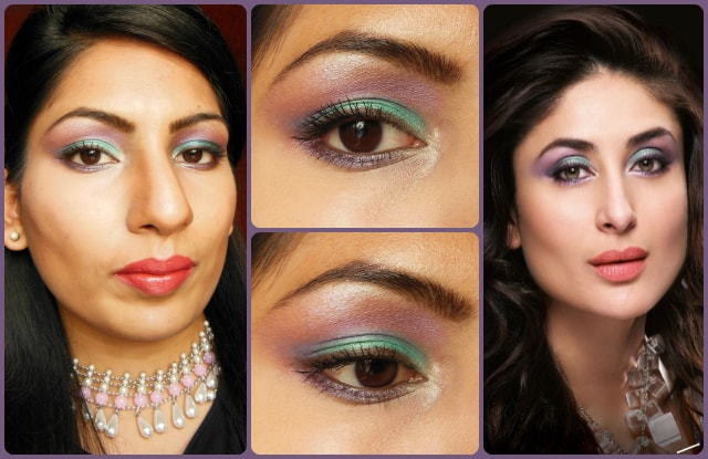 What Am I Wearing Today - Kareena Kapoor Inspired Lakme Illusion Look 2 Makeup
