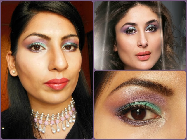 What Am I Wearing Today - Kareena Kapoor Inspired Lakme Illusion Look 2