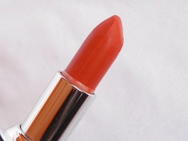 Chambor Powder Matte Lipstick Orange Flambe Shape
