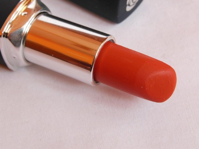 Chambor Powder Matte Orange Flambe Lipstick