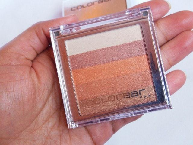 Colorbar Shimmer Bar Baked Eye Shadow and Blush Coral Hint #002