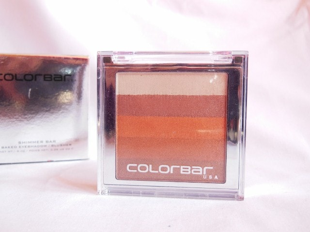 Colorbar Shimmer Bar Baked Eye Shadow and Blush