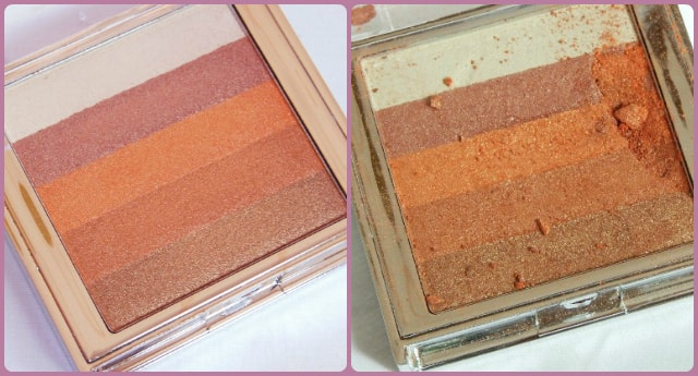 Colorbar Shimmer Brick in Coral Hint - Broken