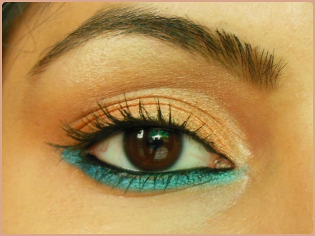 Favorite Eye Makeup - Bright and Blue Eyes