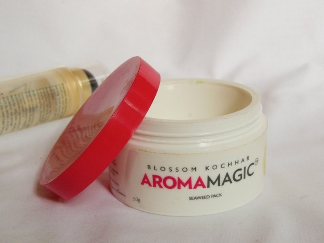 Finally Finished - Aroma Magic SeaWeed face Pack