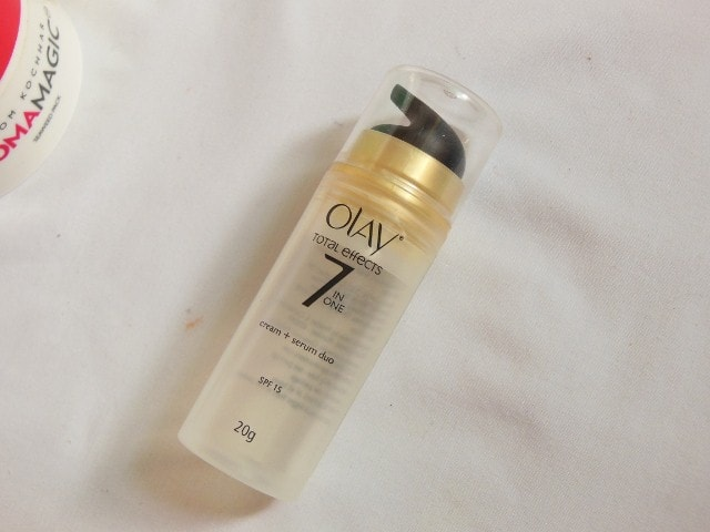 Finally Finished - Olay Total Effect 7 in 1 Cream + Serum Duo
