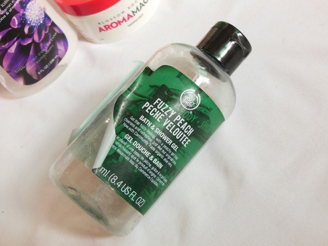 Finally Finished - The Body Shop Peach Shower Gel