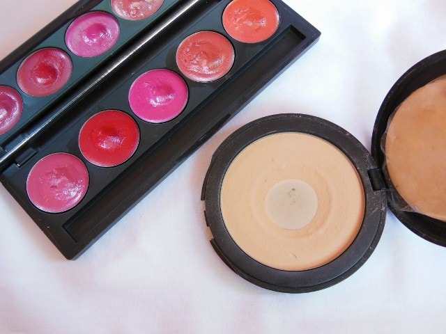 INGLOT Lipstick Refill Palette and Pressed powder