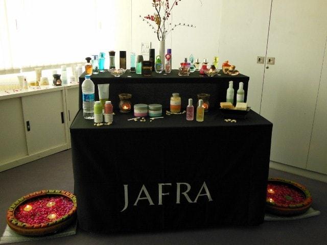 JAFRA Pamper Party