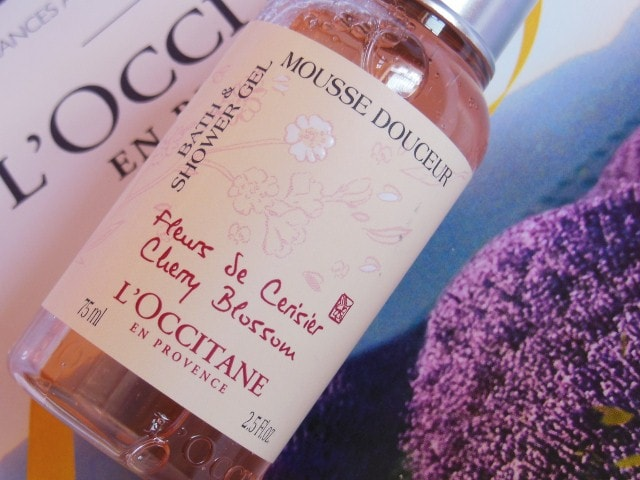 L'Occitane En Provence Cherry Blossom Shower Gel