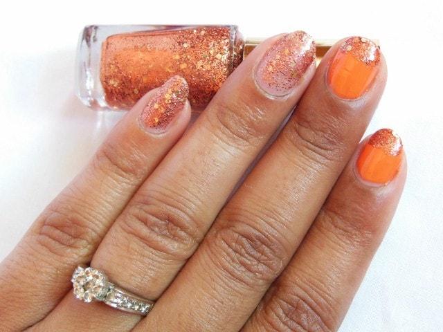 L'Oreal Color Riche Le Vernis Copper Cuff 821 Swatch