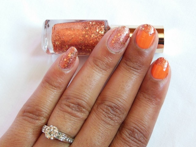 L'Oreal Color Riche Le Vernis Copper Cuff NOTD