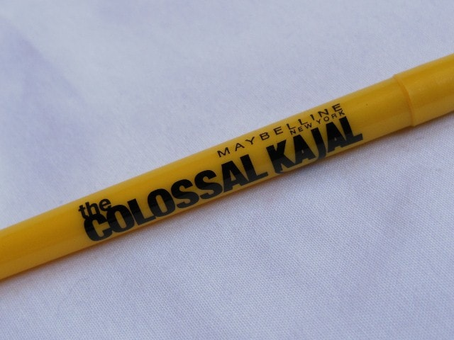 Maybelline  Colossal Kajal Black 12Hr formula Review