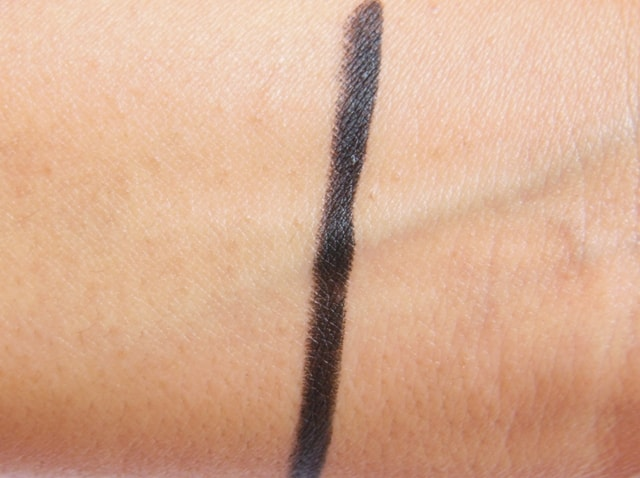 Maybelline New York Colossal Kajal Black 12Hr formula Swatch