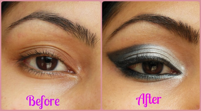 Smokey Gray Eye Makeup Look