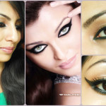 Aishwarya Rai L'Oreal Magique Kohl Inspired Eye Makeup Look