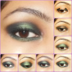 Eye Makeup Tutorial: Gothic Green