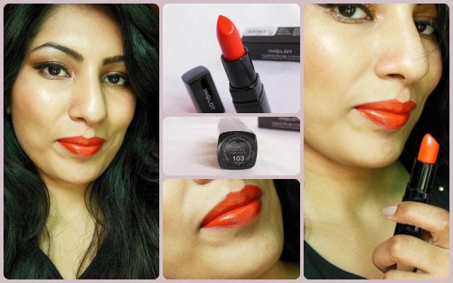 INGLOT #103 Lipstick Look