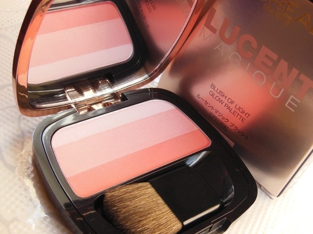 L'Oreal Lucent Magique Blushing kiss Blush