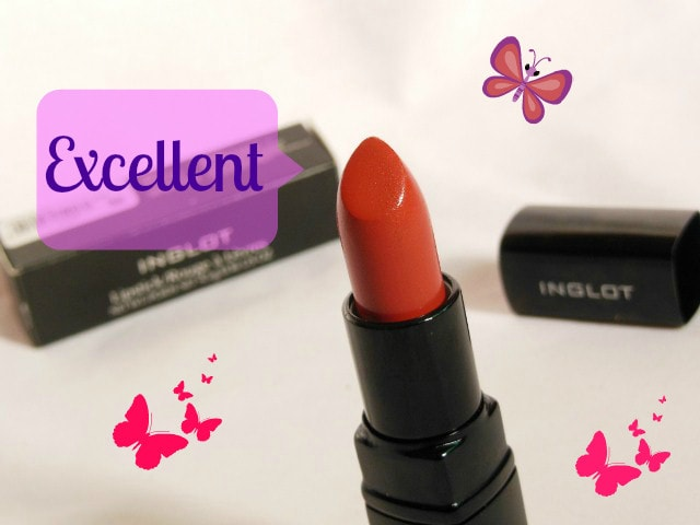 Makeup Marksheet- INGLOT Lipstick #206