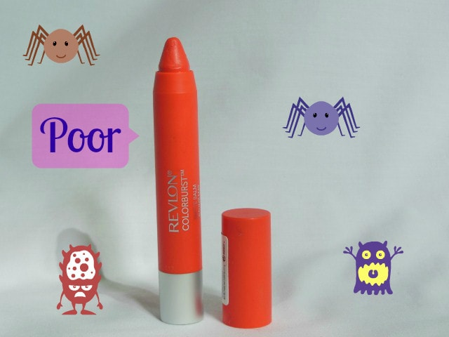 Makeup Marksheet- Revlon Colorburst Audacious Matte Balm