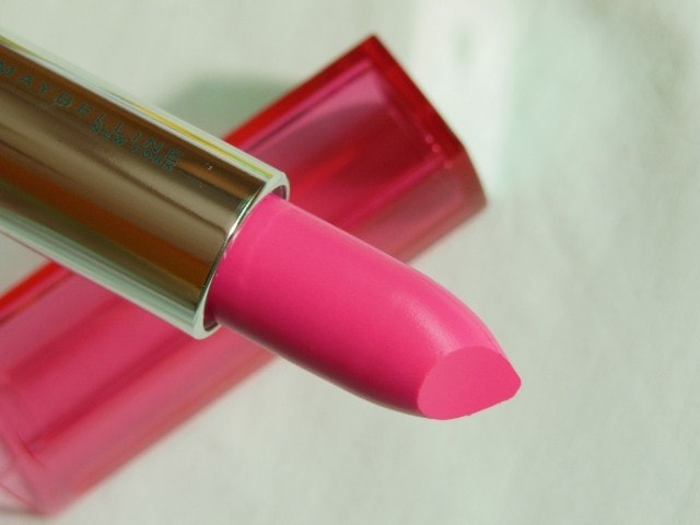 Maybelline Color Sensational Pink Alert Lipstick Pow1 Review
