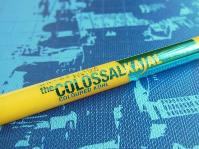 Maybelline the Colossal Turquoise Colored Kohl