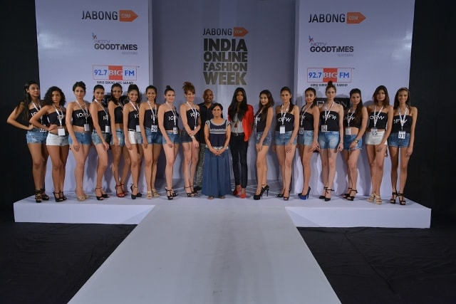 Model Auditions IOFW Jabong