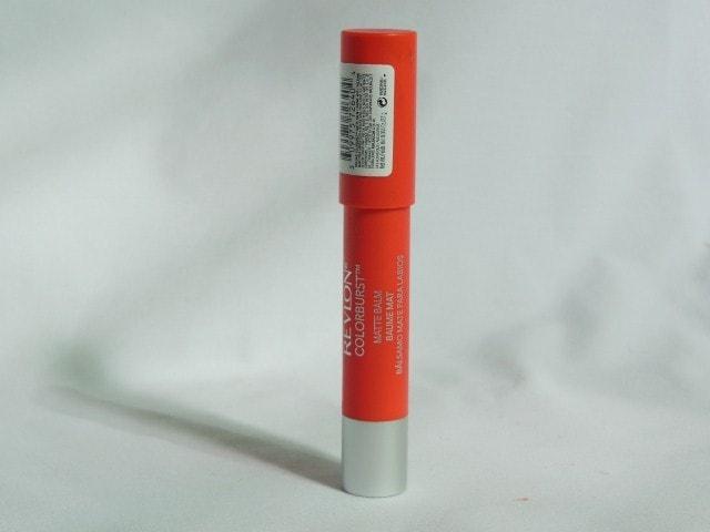 Revlon Colorburst Matte Balm Audacious Packaging