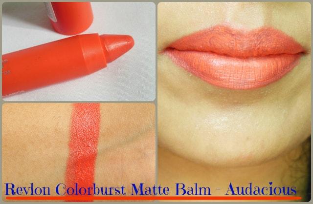 Revlon Colorburst Matte Lip  Balm Audacious Look