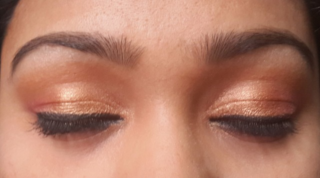 Traditional South Indian Wedding Eye Makeup
