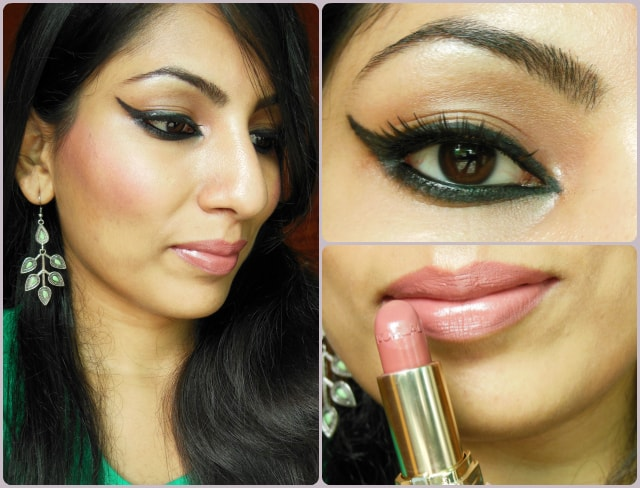What Am I Wearing Today - Aishwarya Rai L'Oreal Magique Kohl Inspired Makeup