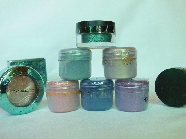 Birthday Makeup Haul - MAC Eye Shadow Pigments