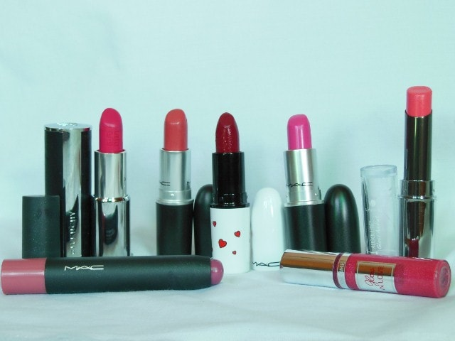 Birthday haul - Lipsticks Haul MAC, Lancome, Lakme
