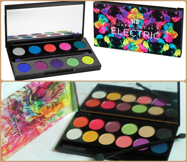 Dupe Discovered - Urban Decay Electric and Sleek Rio Rio Eye Shadow Palette