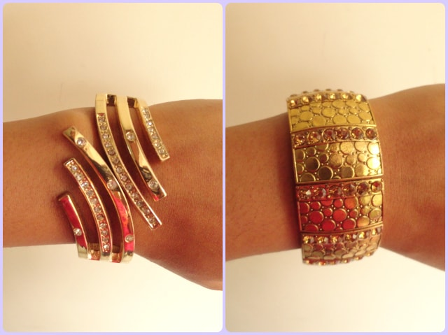 How to wear statement accessory - Statement Bracelet