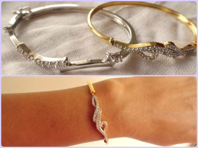 How to wear statement accessory - elegant Bracelets