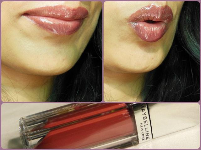 Maybelline Glam 16 Lip Polish LOTD