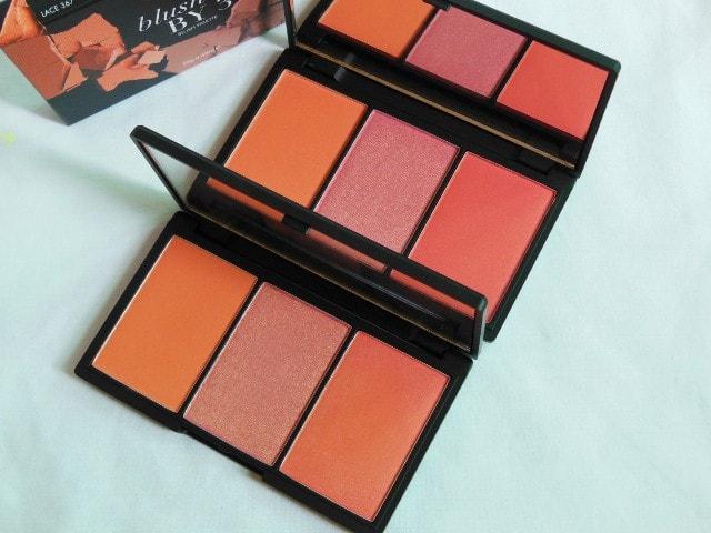 Sleek Blush By 3 Palette Lace - Old Vs New Comparison