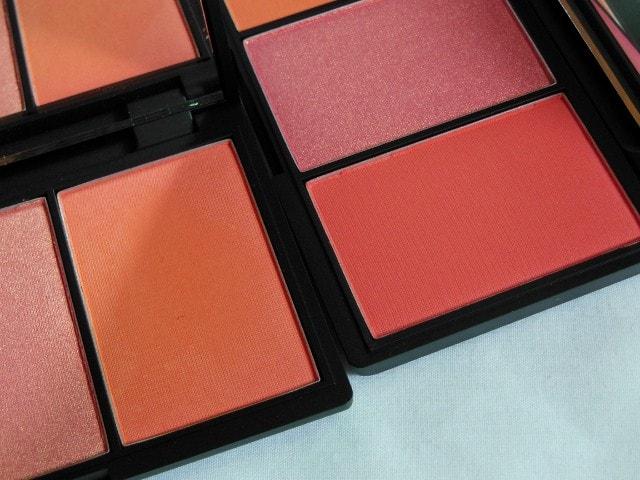 Sleek Blush Palette Lace - Old Vs New