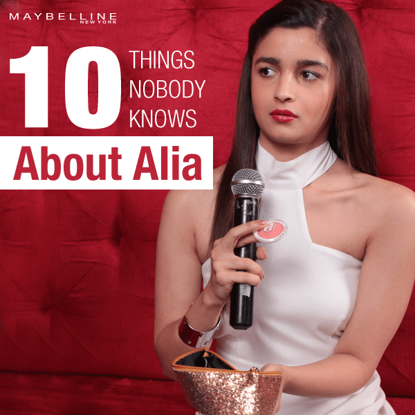 10 things about Alia Bhatt