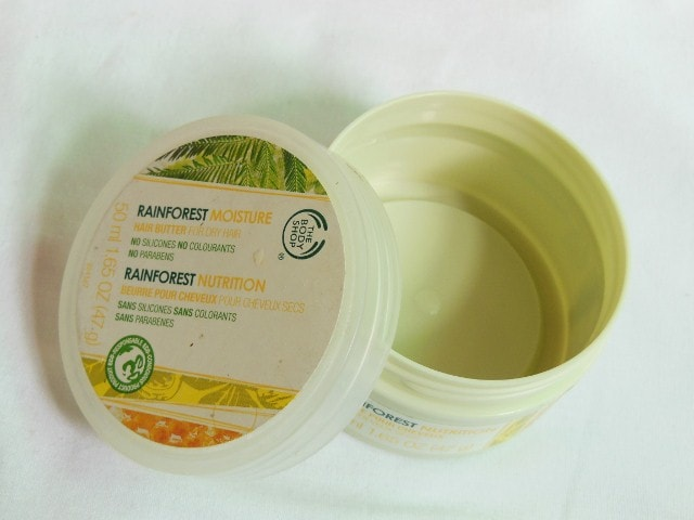 Finally Finished Products - The Body Shop Rainforest Moisture Hair Mask