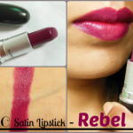MAC Satin Rebel Lipstick Look