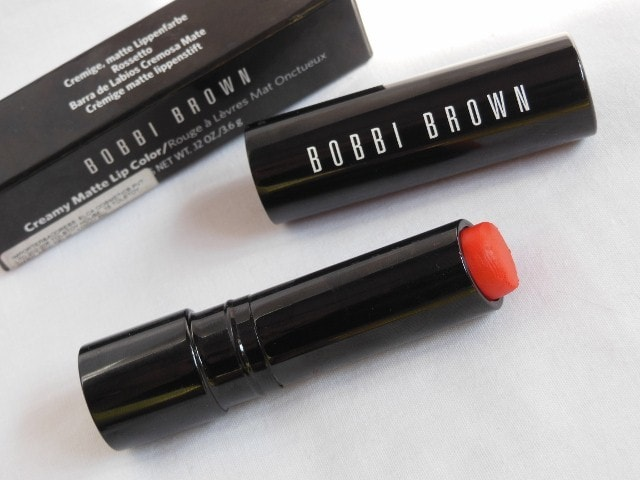 Bobbi Brown Creamy Matte Lip color Jenna 2